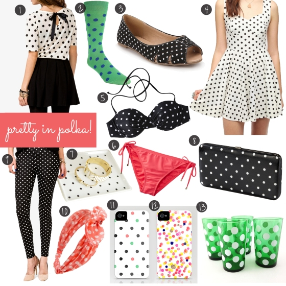Pretty in Polka dots | Sara Berrenson